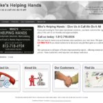 Mike's Helping Hands 200 x 150